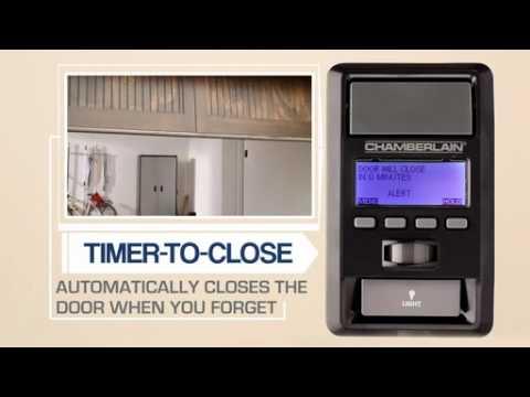 chamberlain home depot garage door opener promo