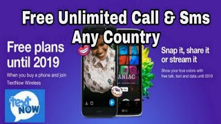 How to Create USA Number & Make Unlimited Call Any Country || Calls and Messages Free🔥🔥🔥🔥
