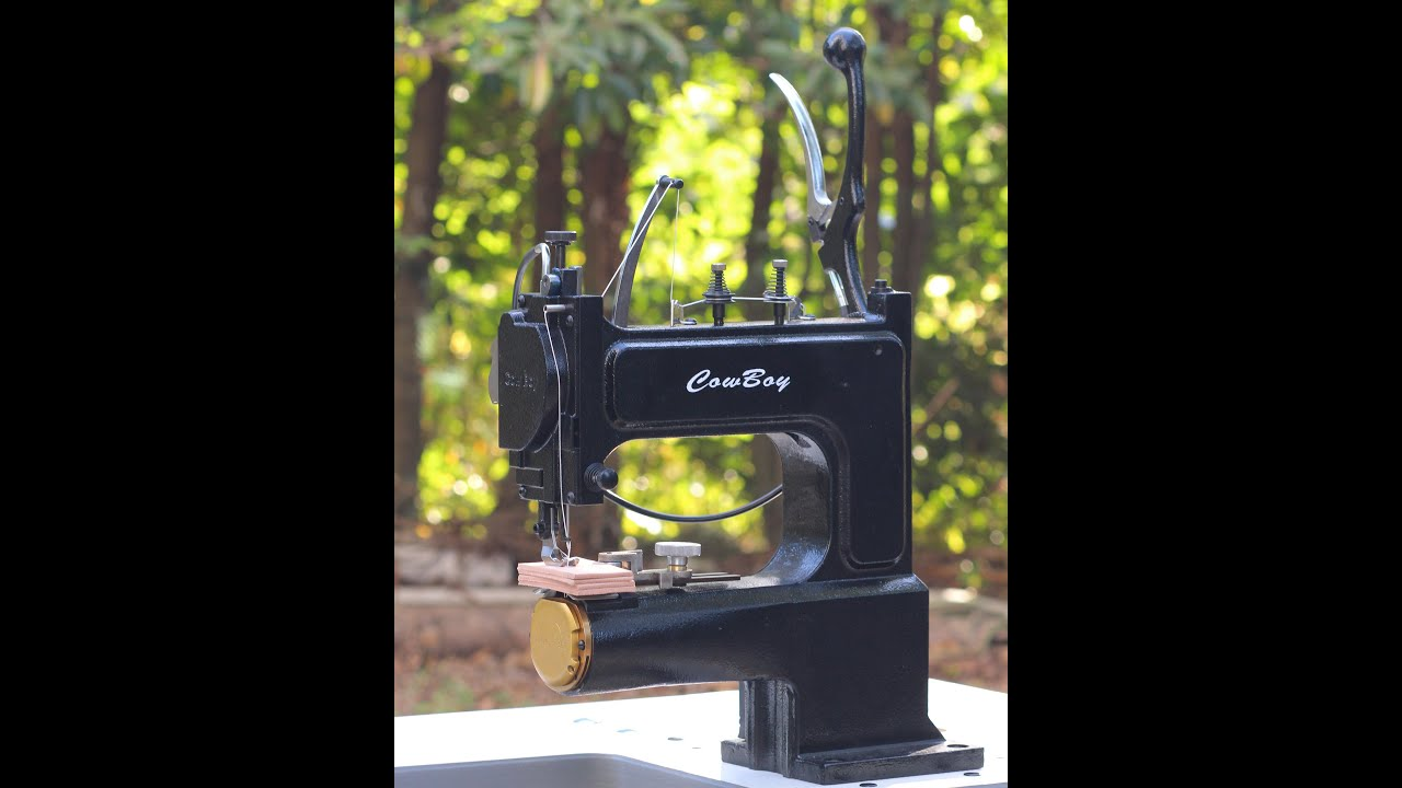 Best hand crank sewing machine for leather