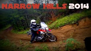 Adventure and Dual Sport in Narrow Hills 2014