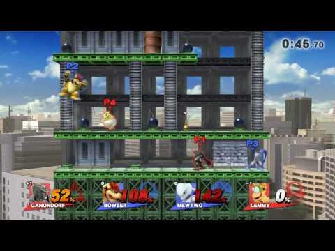 Smash WiiU - LSoul/leon Vs Mufasa/xX$тα$нαXx