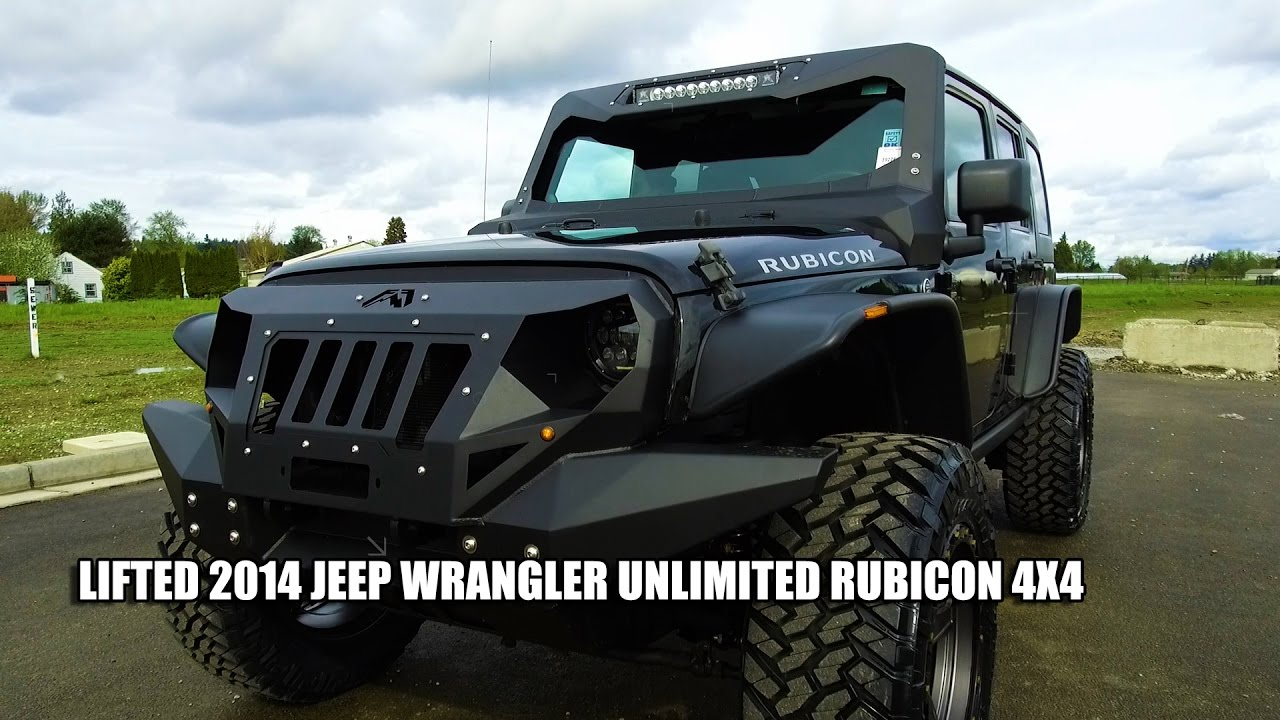 2017 Jeep Wrangler Lifted >> LIFTED 2014 JEEP WRANGLER UNLIMITED RUBICON 4X4 - YouTube