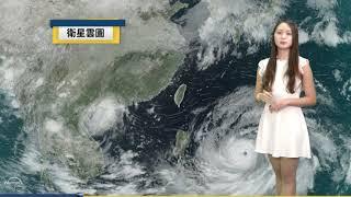 2018/09/14 山竹颱風逐漸接近 下半天起東側雨勢漸增
