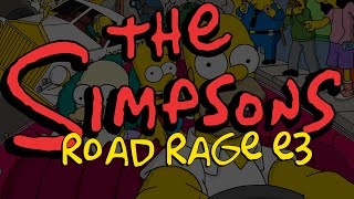 Simpsons: Road Rage e3 2001 Xbox Alpha Build
