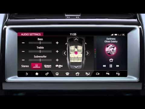 Jaguar F-PACE 2017   InControl Touch Pro Settings