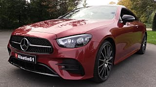 2021 NEW Mercedes E Class Coupe AMG - Facelift MBUX FULL REVIEW Interior Exterior SOUND