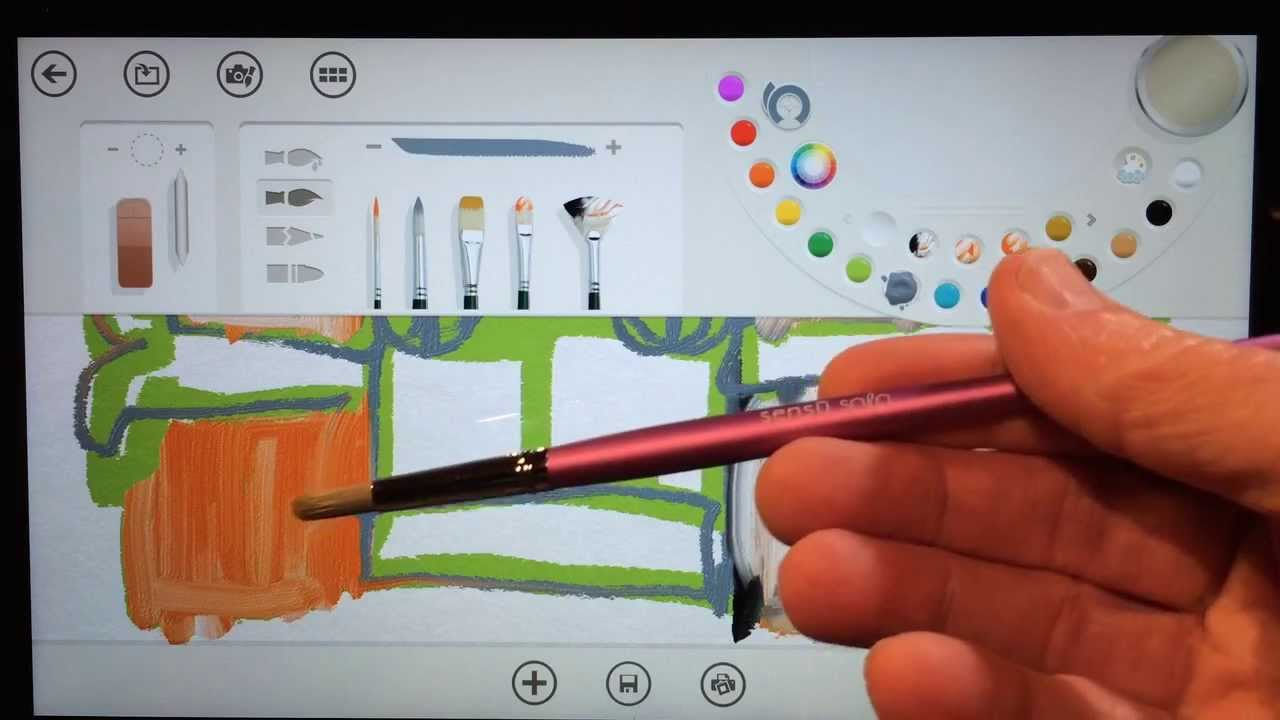 App Instructions Paint Fresh
