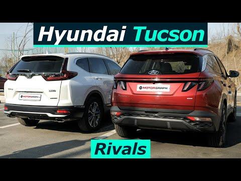 "2022 Hyundai Tucson 1.6T vs. Honda CR-V 1.5T ""You Can't Go Wrong"""