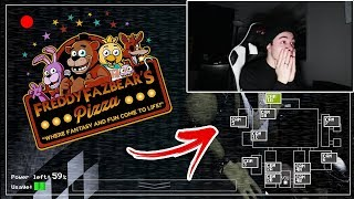 (FNAF) PLAYING FIVE NIGHTS AT FREDDY'S GAME AT 3 AM!! (SCARY)