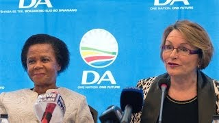 Helen Zille announces Mamphela Ramphele as DA