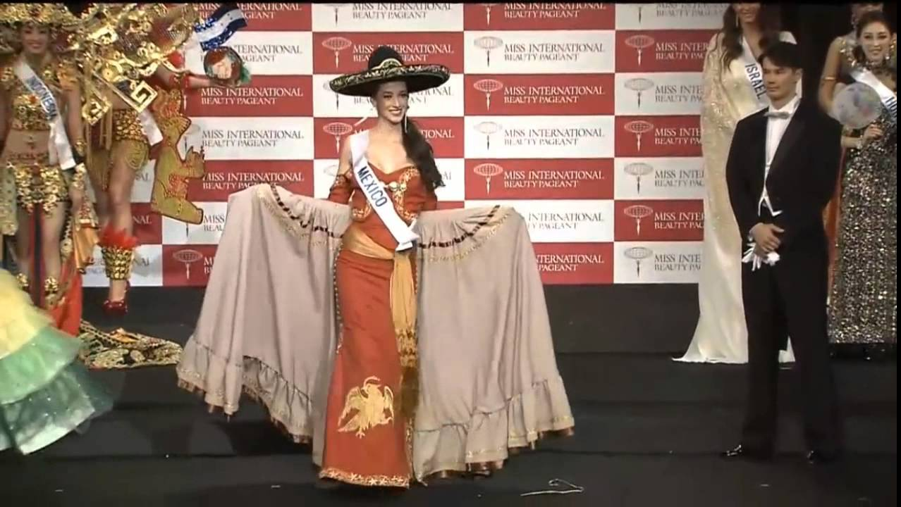miss mexico international 2014 national costume youtube