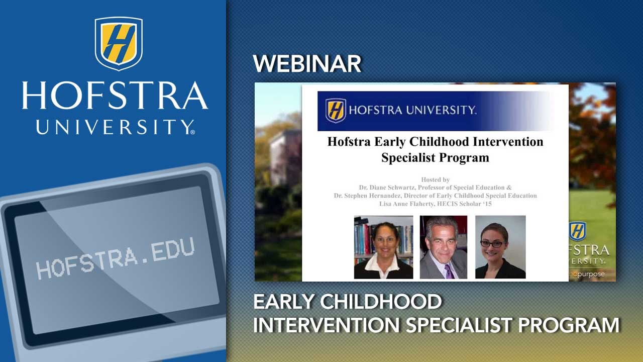 Exploring Special Education Early Childhood Intervention Youtube