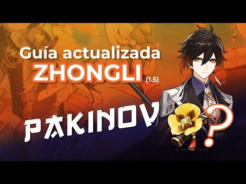 GUÍA ACTUALIZADA ZHONGLI (1.5) / SUPPORT y CARRY – Genshin Impact (Gameplay Español)