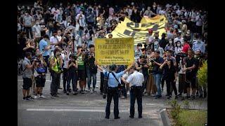 香港风云(2019年10月18日) 民阵召集人岑子杰二度被袭,周日游行被港警反对