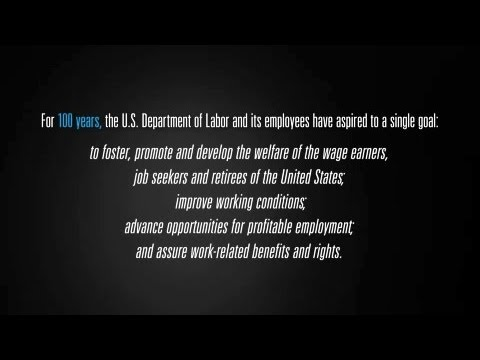 The Labor Department's Mission