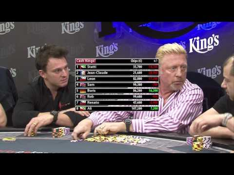 1/3 Cash Kings NLH €100/€200 with Boris Becker