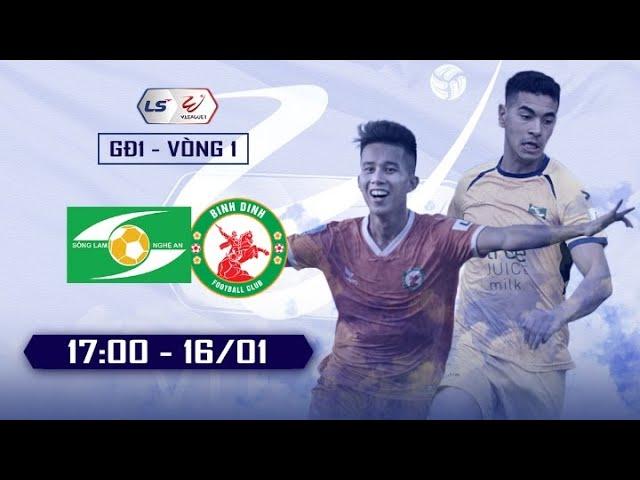 🔴 REVIEW   Hiệp 1   Sông Lam Nghệ An - Bình Định   Review Vòng 1 Vleague 2021 - H2
