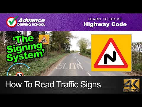 How To Read Traffic Signs  |  Learn To Drive: Highway Code