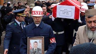 Şehit Uzman Onbaşı İbrahim Albayrak, son yolculuğuna uğurlandı