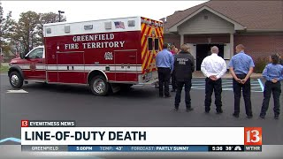 Greenfield mourns loss of veteran firefighter