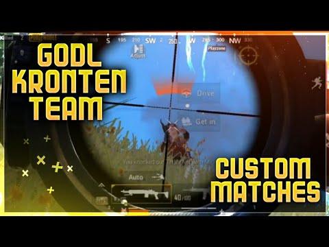 Competitive Custom Highlights | GodL | Kronten's Team