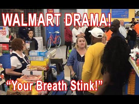 We join the Walmart Brunswick drama already in progress (Original)