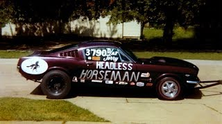 Mustang Drag Car - started after 30 years in storage