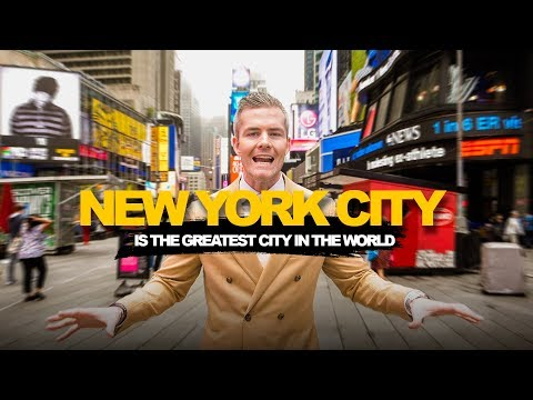 Why New York City is the Greatest City in the World | Ryan Serhant Vlog #73