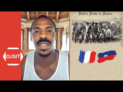 Mehcad Brooks Explains How 'France' Extorted 'Haiti' Into Becoming One Of The Poorest Countries!