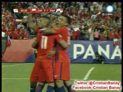 Chile 4 Panama 2 (TVN Panama)  Copa America Centenario 2016