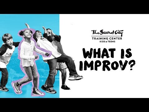 What Is Improv? Second City Kids Are the Experts