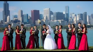 Самая незабываемая свадьба  в Чикаго. Азамат & Азиза. By Next KG Steps