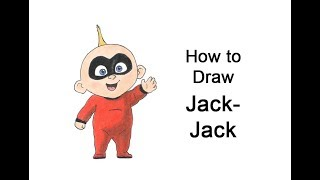 How to Draw Jack-Jack from The Incredibles