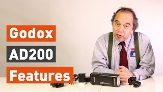 Godox AD200 unboxing & features