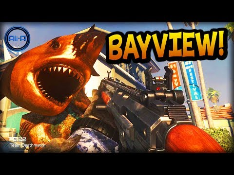 """Call of Duty: Ghost """"BAYVIEW"""" Gameplay! - NEW Multiplayer Map! - (COD Ghosts Onslaught DLC)"""