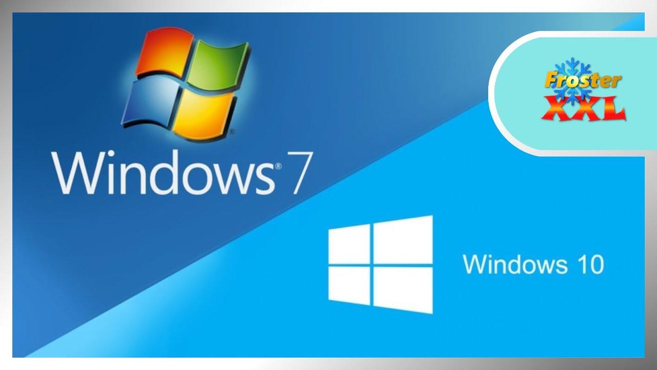 Auf Windows 10 Upgraden