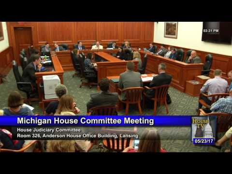 23MAY17 House Judiciary Committee Meeting - HB 4416-4419 of 2017