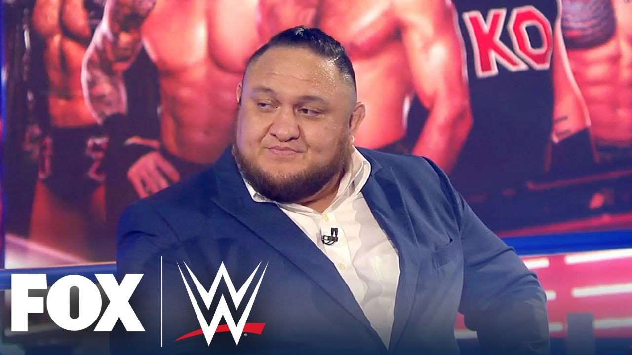 Samoa Joe joins WWE Backstage to review the week in the WWE universe | WWE BACKSTAGE | WWE ON FOX