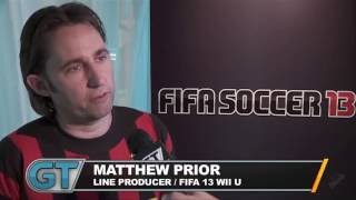 Fifa Soccer 13 - Wii U Differences Interview
