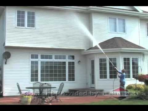 briggs stratton clean your siding with a pressure washer youtube