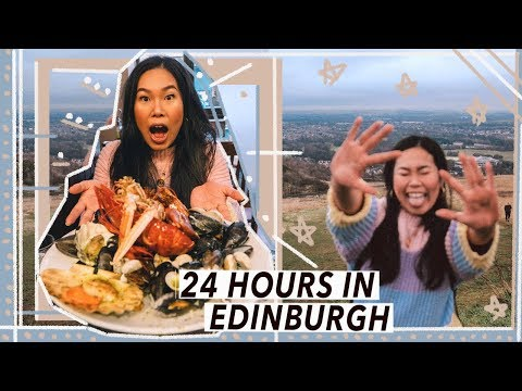 Eating And Exploring Edinburgh | Scotland Food Travel Vlog