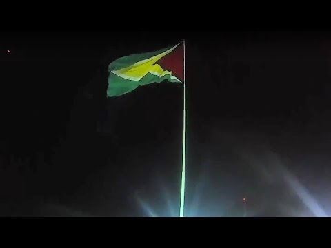 95 lb. Flag in Guyana 😱
