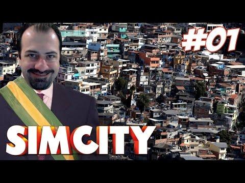 SimCity #01 - Bem vindos a POBRELÂNDIA !! (Facecam)