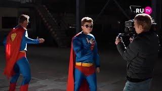 Видео со съемок клипа Коли Коробова и Алексея Воробьева (RU.TV)