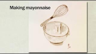 Jacques Pepin's Complete Techฑiques Eggs 02 Making Mayonnaise