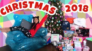 Opening Christmas Presents 🎁 WHAT I  GOT FOR CHRISTMAS 2018 Tiana Hearts