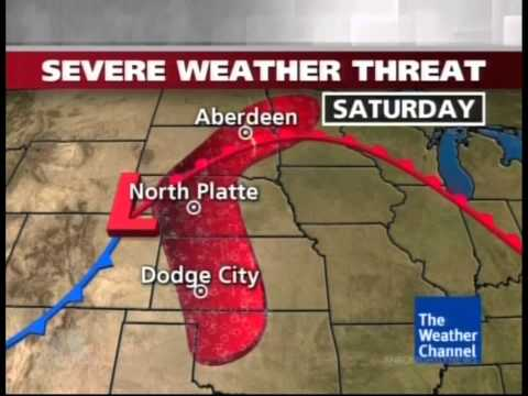 Mike Seidel  NBC Nightly News Granbury, TX Severe Wx Forecast  5-17-2013