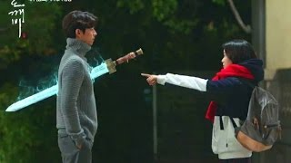 Video Goblin Episode 3 Ending (eng sub) - She can see the sword?! feat Exo Chanyeol and Punch download MP3, 3GP, MP4, WEBM, AVI, FLV Januari 2018