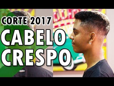 🔵 CORTE DE CABELO CRESPO MASCULINO 2017 | HAIRSTYLE FOR MEN