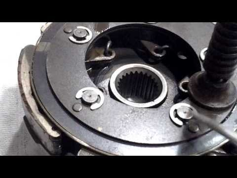 HOW TO REPLACE CLUTCH PADS RHINO SUZUKI HONDA